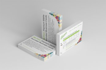 Premium Matte Rounded Business Cards