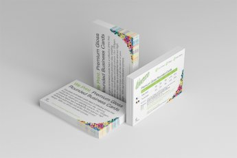 Premium Gloss Rounded Business Cards