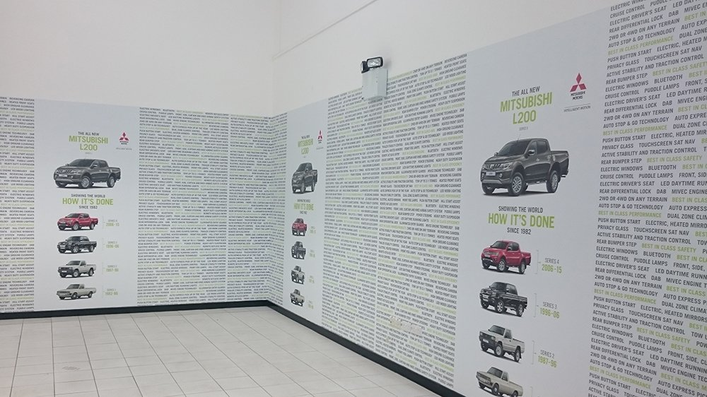 Automotive Showroom Wallpaper